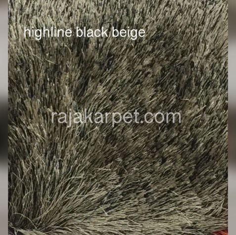 Karpet Bulu Highline 10 highline_black_beige