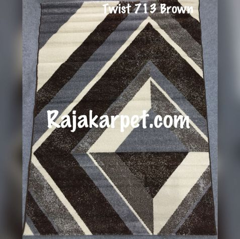 Karpet Permadani TWIST 8 twist_713_brown